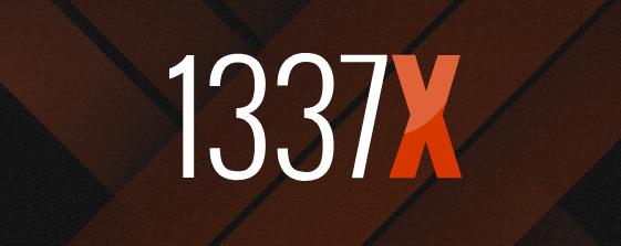 logomarca do site 1337X, terceiro site mais acessado do mundo em torrents