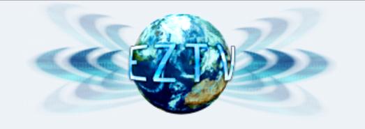 logo do site eztv - alternativa ao pirate bay
