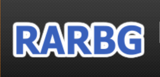 logotipo do site rarbg, alternativa ao pirate bay