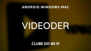 baixar videoder atualizado 2020 apk para android
