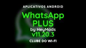 baixar whatsapp plus atualizado 2020 v11.20.3 para android