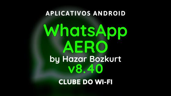 whatsapp aero atualizado 2020 apk