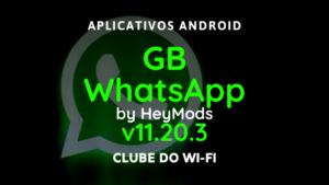 baixar whatsapp gb atualizado 2020 v11.20.3 para android