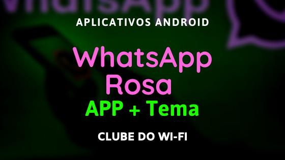 download whatsapp gb rosa atualizado 2021