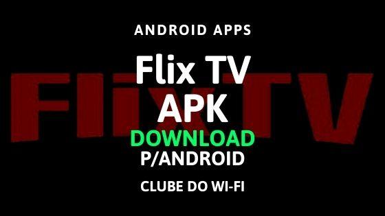 imagem do flix tv para download no android