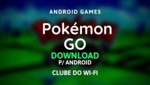 imagem do jogo pokémon go para android