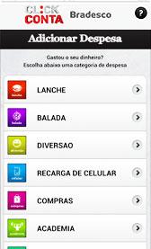 Baixar Aplicativo do Banco do Bradesco Click Conta | Download para Android e iPhone iOS