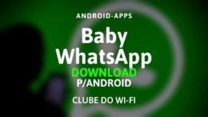 baixar baby whatsapp apk 2020 atualizado download para android