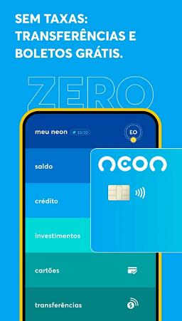 aplicativo do banco neon como baixar