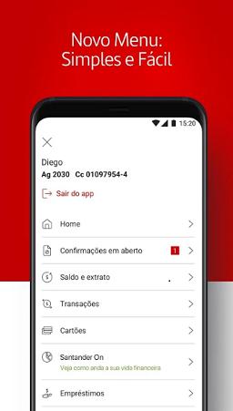 como baixar o aplicativo do banco santander digital para iphone e android