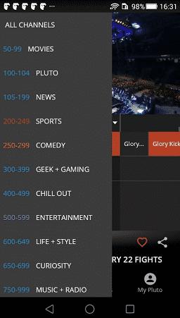 baixar pluto tv apk download para android