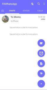 Baixar FA WhatsApp APK 2021 Atualizado | Download para Android