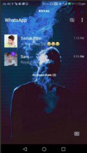 Baixar Royal WhatsApp Transparent APK 2021 Atualizado | Download para Android