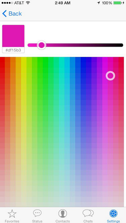 baixar whatsapp colorido para iphone ios