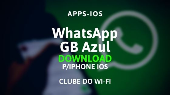 whatsapp gb azul para iphone ios