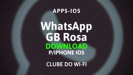 whatsapp gb rosa para iphone ios