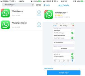 whatsapp gb para ios 14