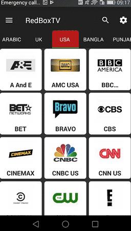 baixar redbox tv apk 2020 para android