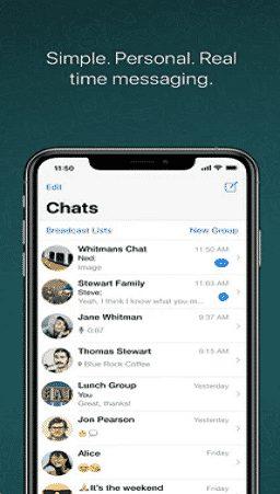 whatsapp messenger para iphone ios baixar