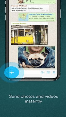whatsapp messenger para iphone ios