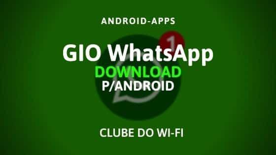 gio whatsapp apk 2020 atualizado para android
