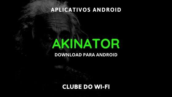 baixar akinator atualizado 2021 apk android