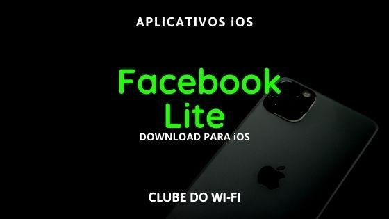 baixar facebook lite para iphone ios ipa