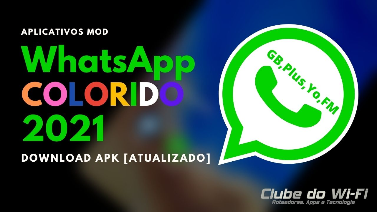 WhatsApp Colorido 2021