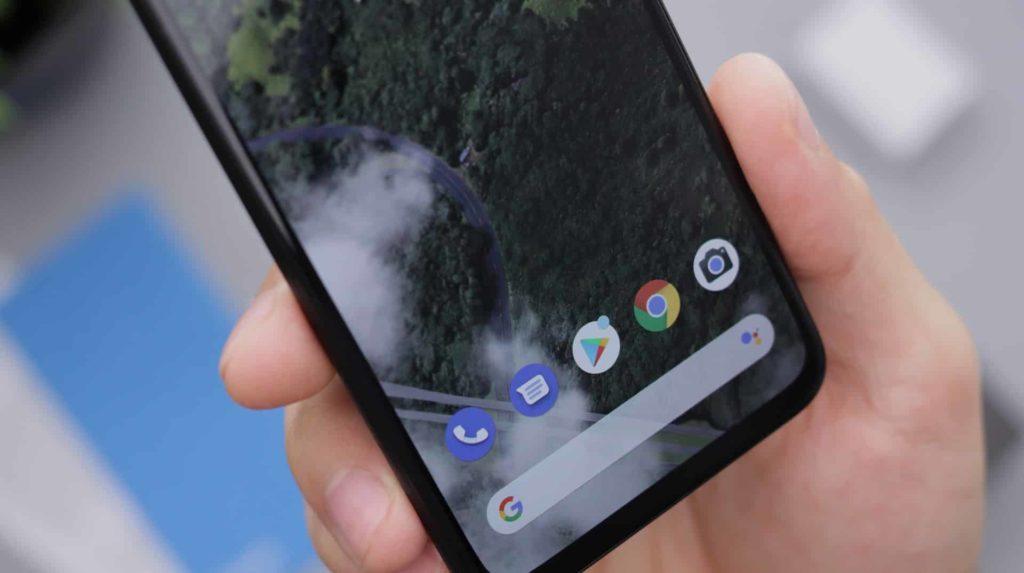 Imagem de um celular android