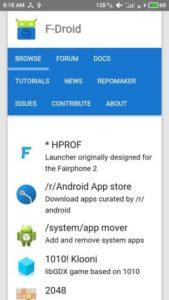 F-DROID Atualizado 2021 para Android