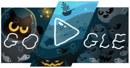 Doodle do Google HALLOWEEN