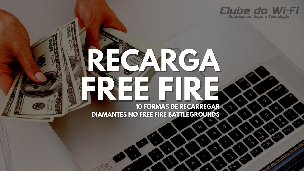 recarga jogo free fire 2021